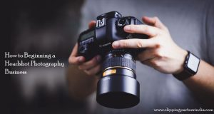 How To Beginning A Headshot Photography Business