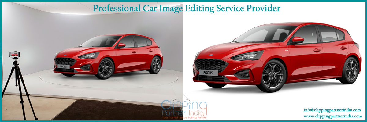 Clipping Path Service for car image editing