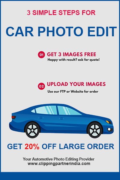 car photo editing service banner